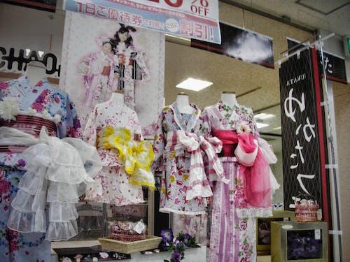 Δωρεάν στοκ φωτογραφιών με yukata, αγορά, γιαπωνέζικος, γυναίκα