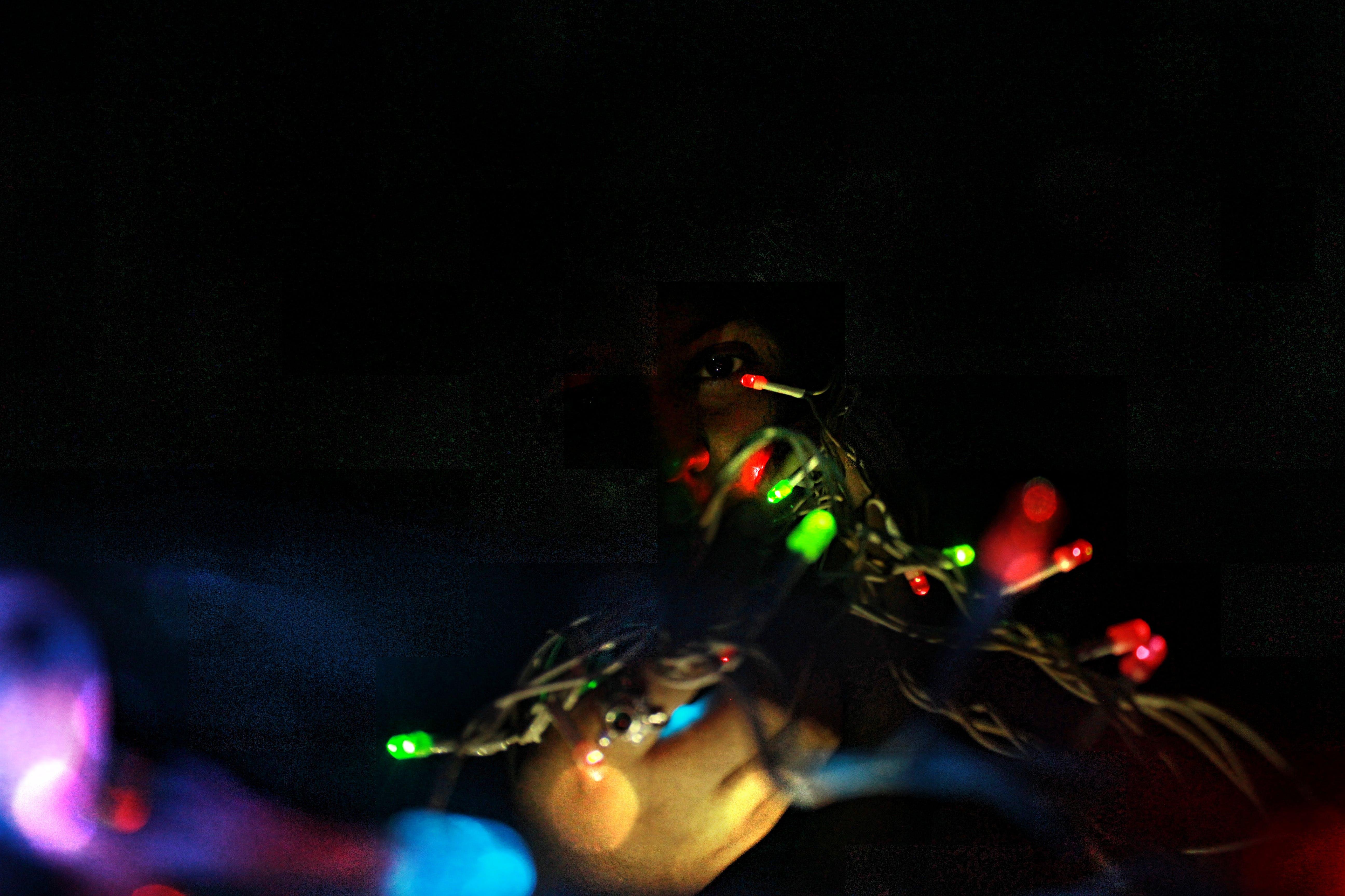 Free stock photo of light phenomenon