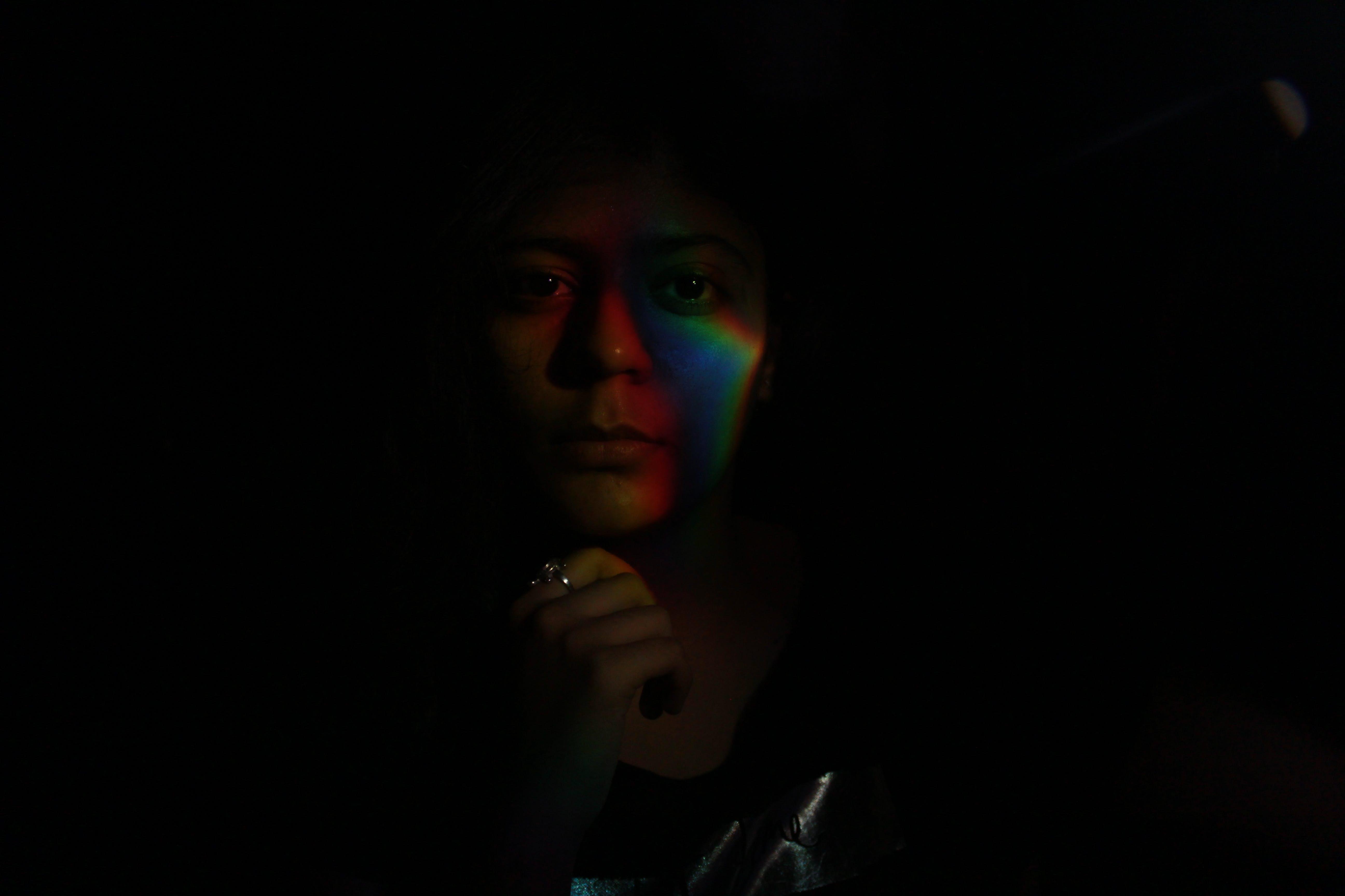 Gratis lagerfoto af regnbuens farver