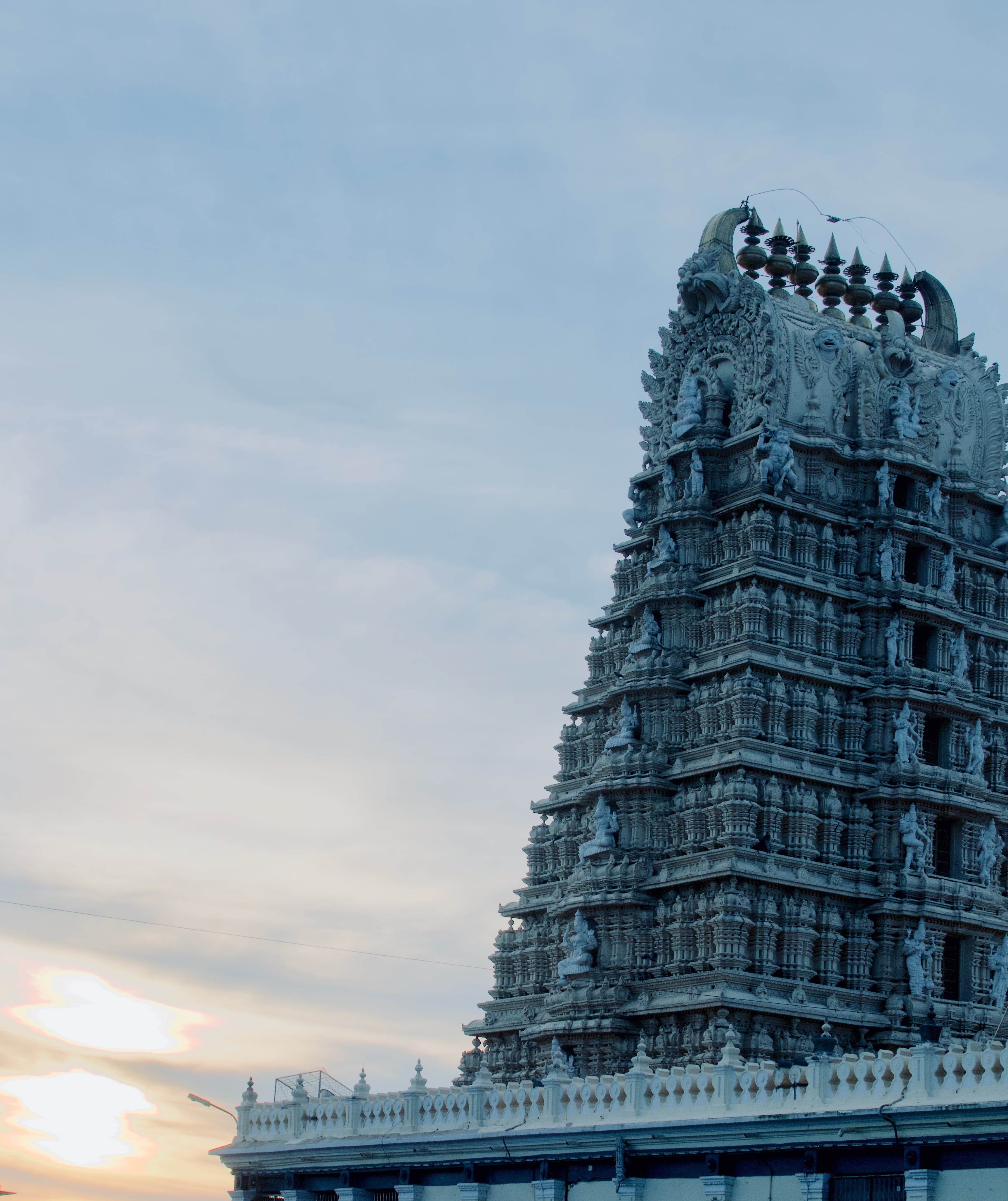 Low Angle Photo of Brown Temple