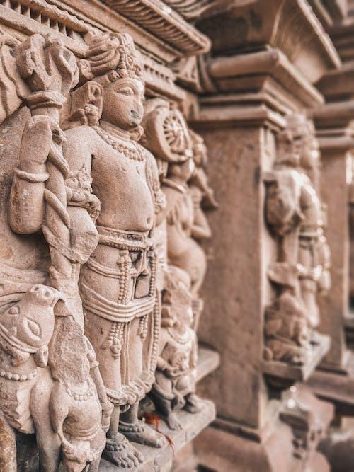 Ảnh lưu trữ miễn phí về bức tượng, cận cảnh, cột, cục đá
