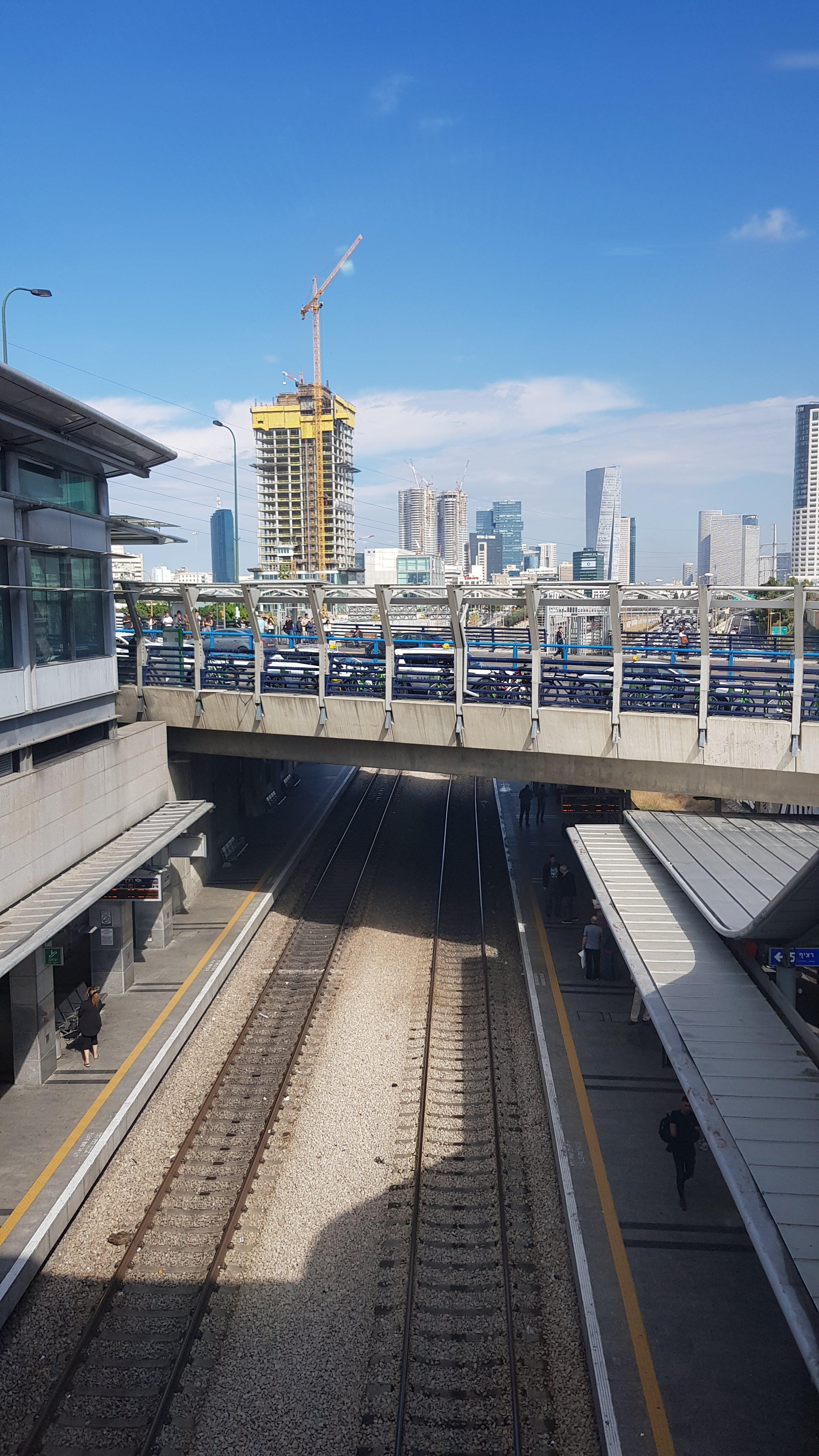 Free stock photo of Israel, tel aviv, train station