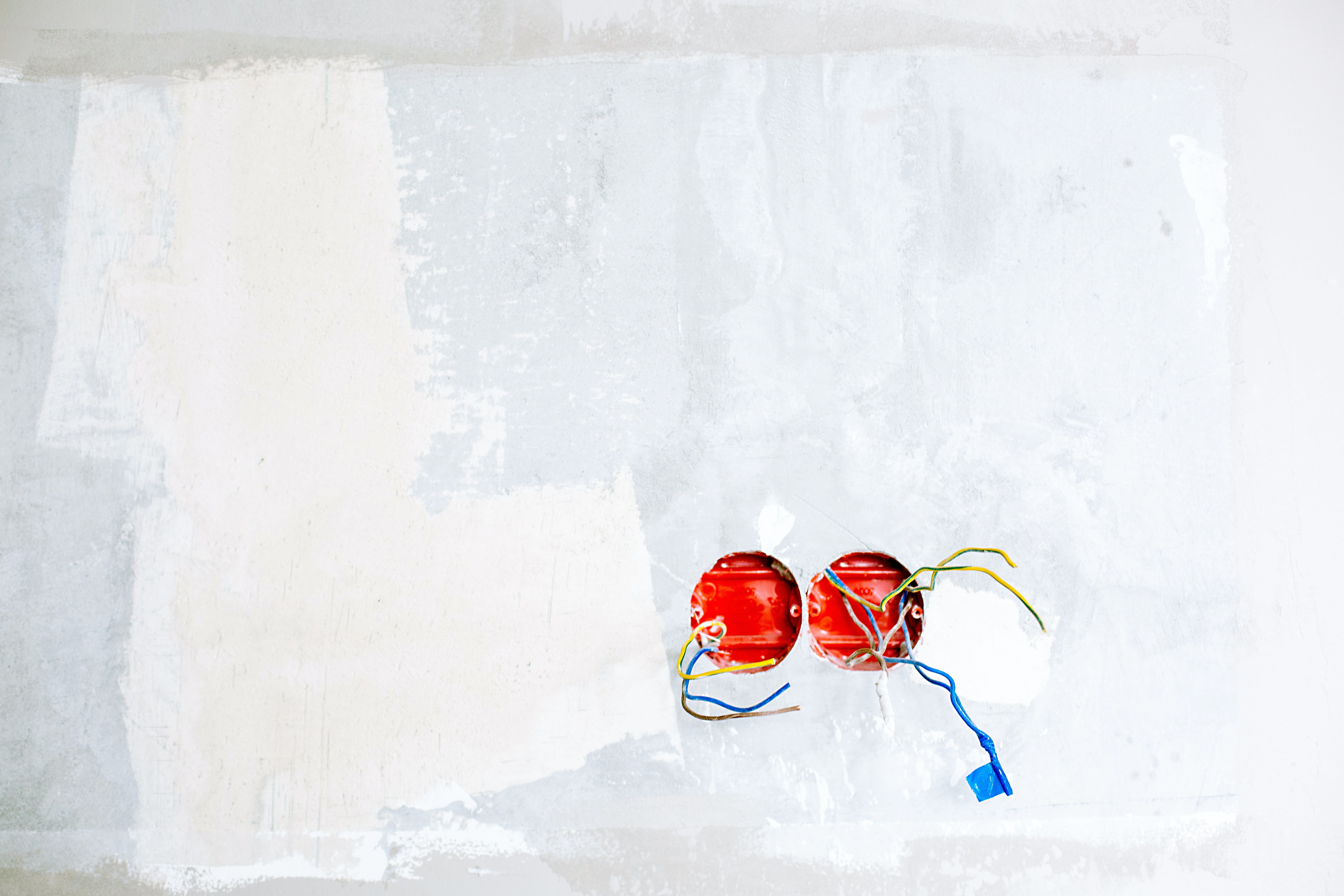 Two Red Ball Ornaments