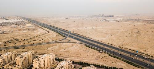 Foto profissional grátis de aerofotografia, areia, de cima, deserto