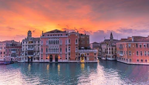 城市, 城鎮, 大運河, 威尼斯 的 免費圖庫相片