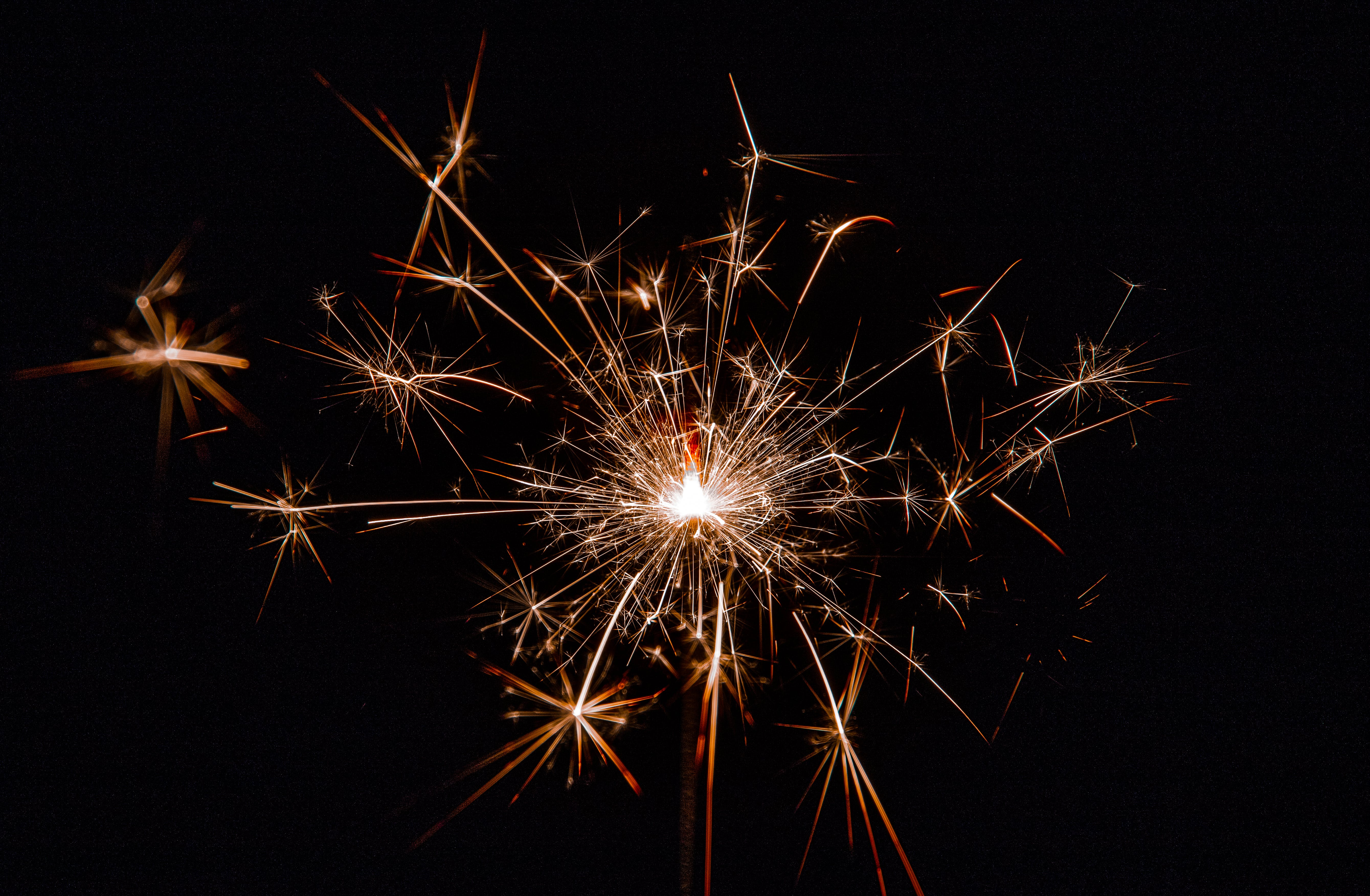 Low Light Photography of Firecrackers