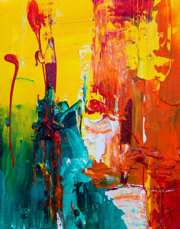 abstract expressionisme, abstract schilderij, achtergrond