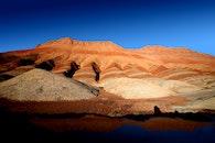 landscape, nature, sand