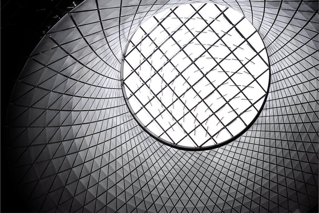 aluminium, arkitektur, bakgrunder