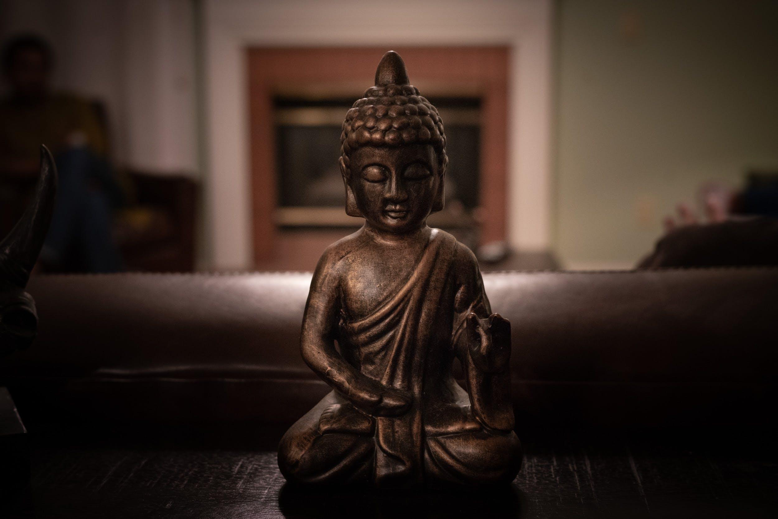 Kostenloses Stock Foto zu buddha, buddhismus, drinnen, innen