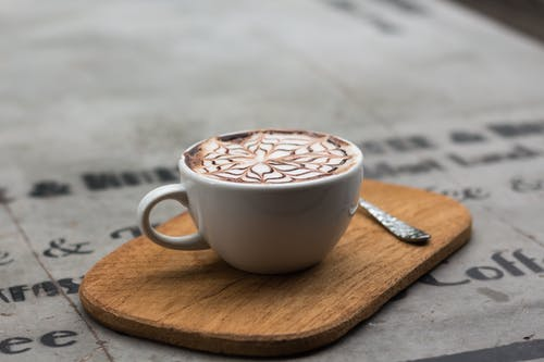 一杯咖啡, 卡布奇諾, 原本, 咖啡 的 免费素材照片
