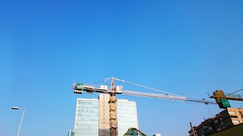 Ingyenes stockfotó daru, daru emelőkarja, építés, épület témában