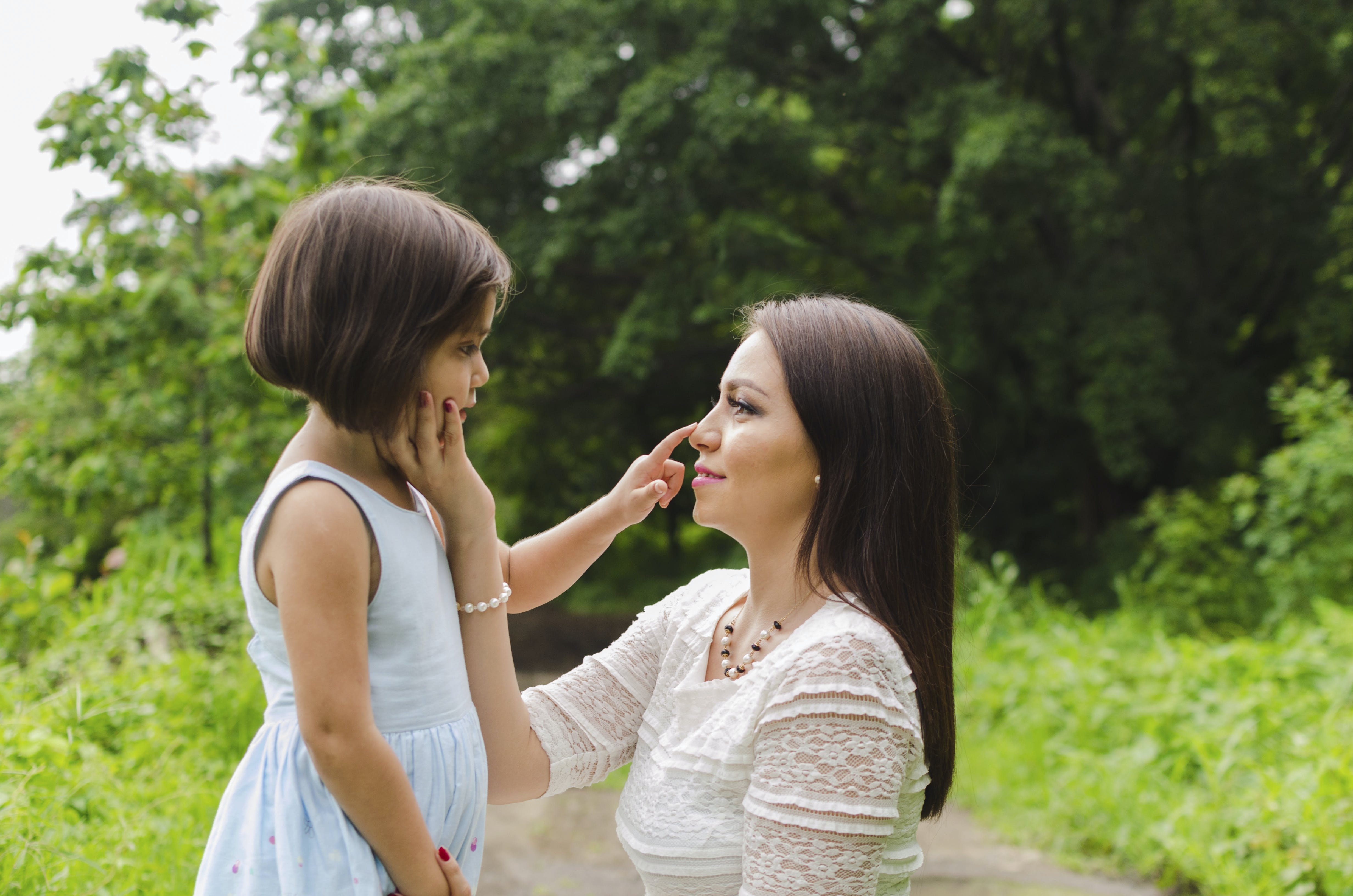 Photo of Woman And Her Daughter