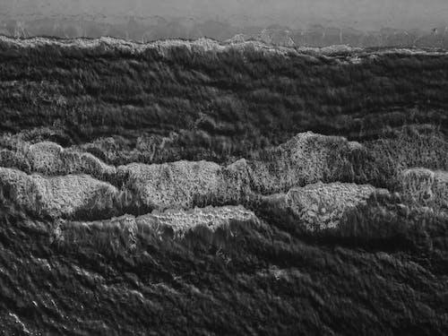 Kostenloses Stock Foto zu landschaftlich, luftschuß, meer, meeresküste