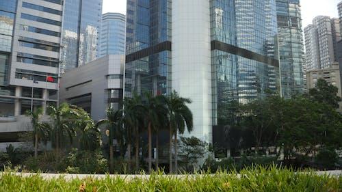 Ilmainen kuvapankkikuva tunnisteilla hong kong, hongkong, kaupunki, lasin julkisivu