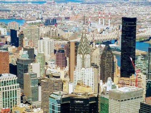 Imagine de stoc gratuită din clădirea chrysler, new york, orizont, turn