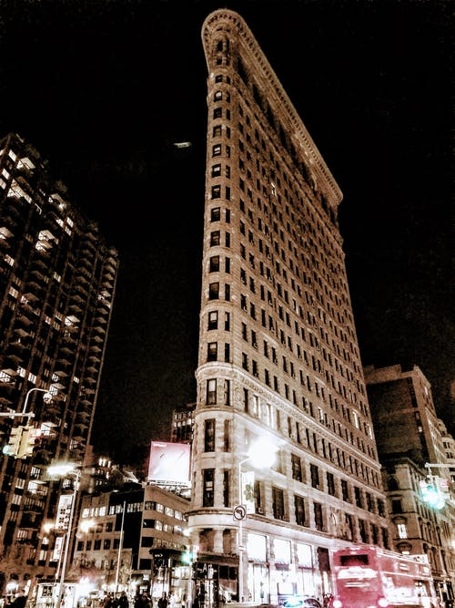 Kostenloses Stock Foto zu architektur, flatiron building, new york