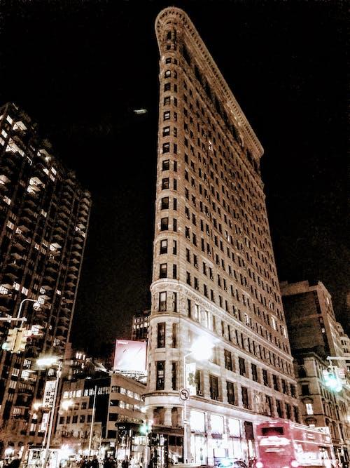 Gratis stockfoto met amerika, architectuur, flat new york, gebouw