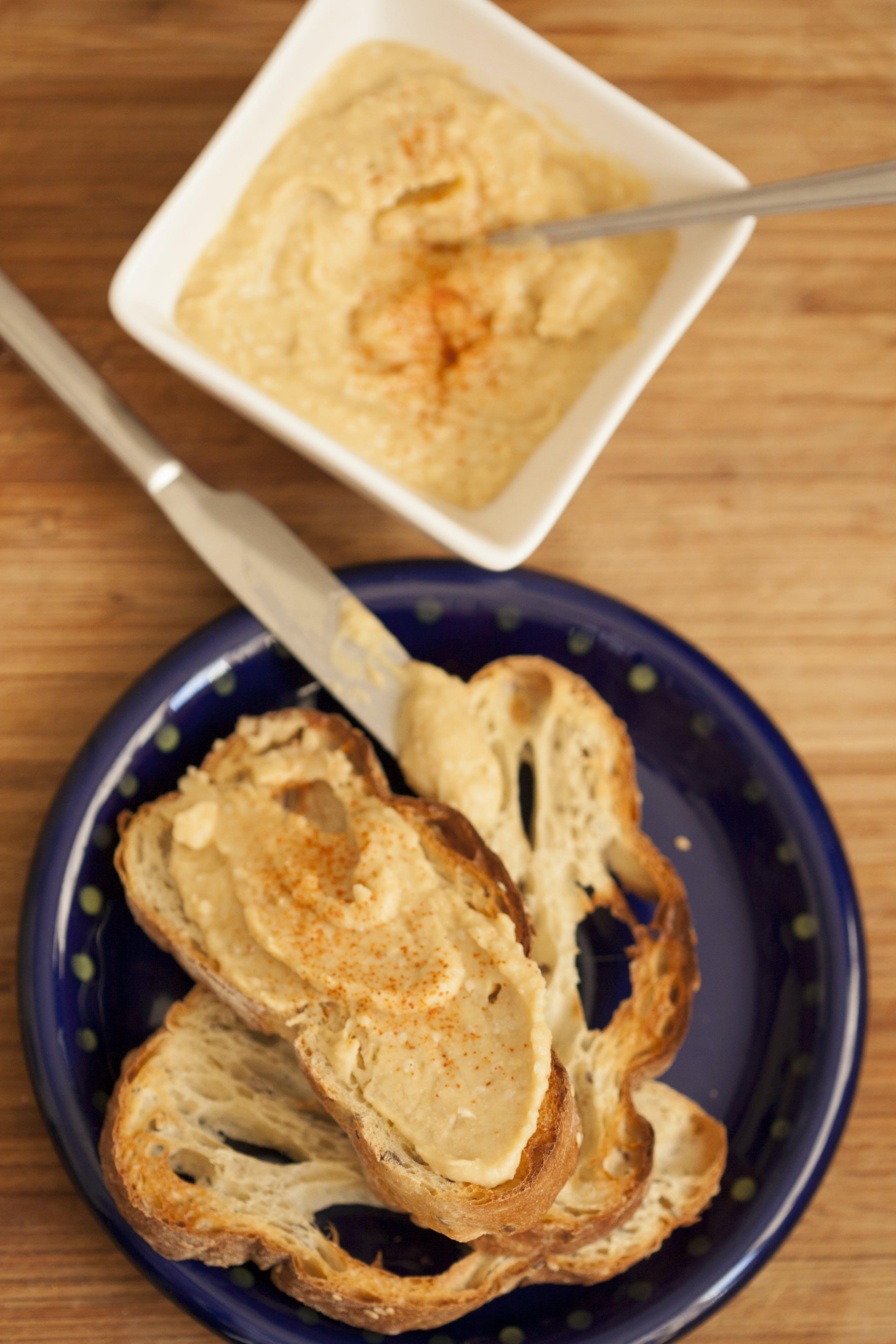 คลังภาพถ่ายฟรี ของ ขนมปัง, ขนมปังปิ้ง, ขนมปิ้ง, ขัน