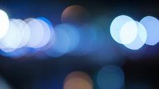 beleuchtung, nacht, blau