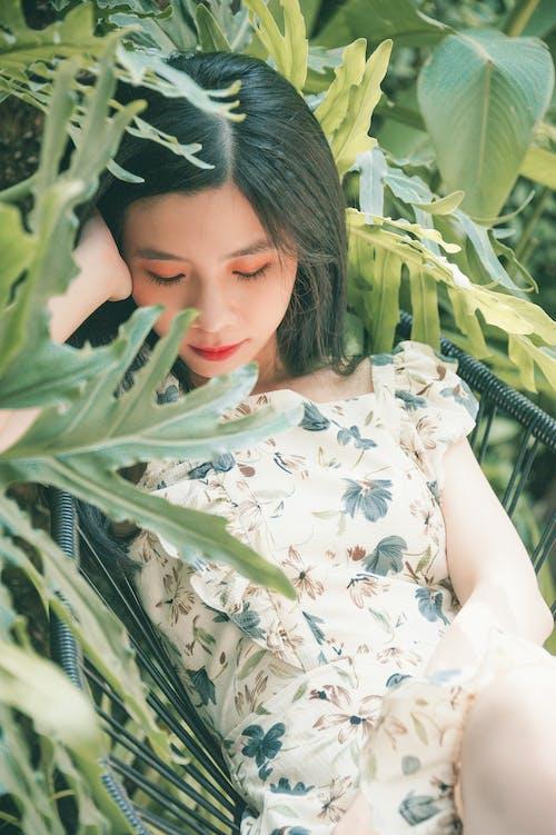 bitki, boş zaman, Çiçekli elbise, fotoğraf çekimi içeren Ücretsiz stok fotoğraf