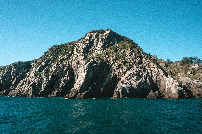 Darmowe zdjęcie z galerii z góra, krajobraz, malowniczy, morze