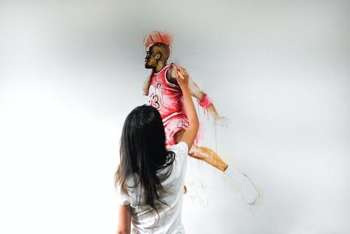 Photos gratuites de aquarelle, art, femme peinture, illustration