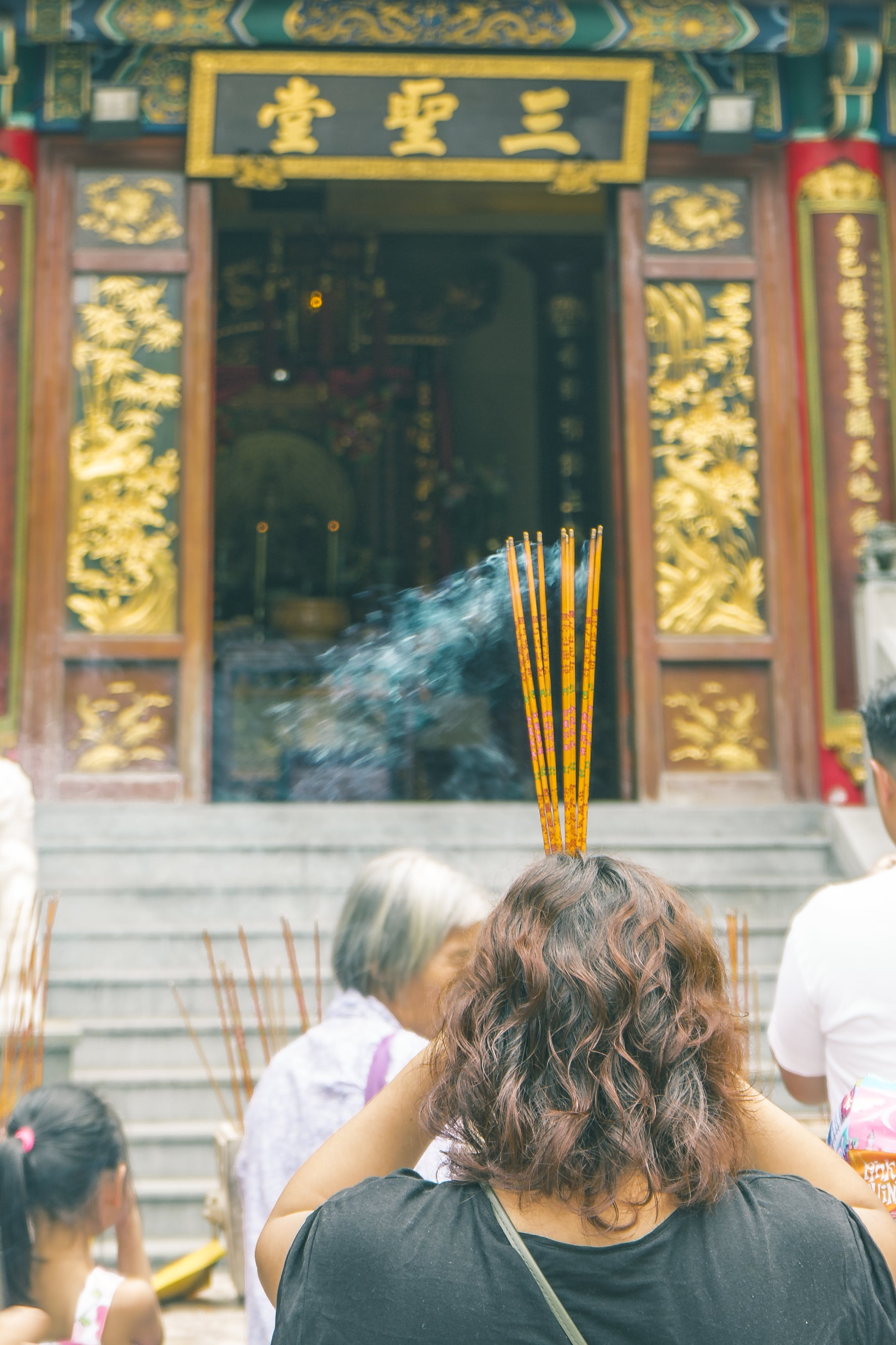 Free stock photo of hong kong, insects, religious, temple