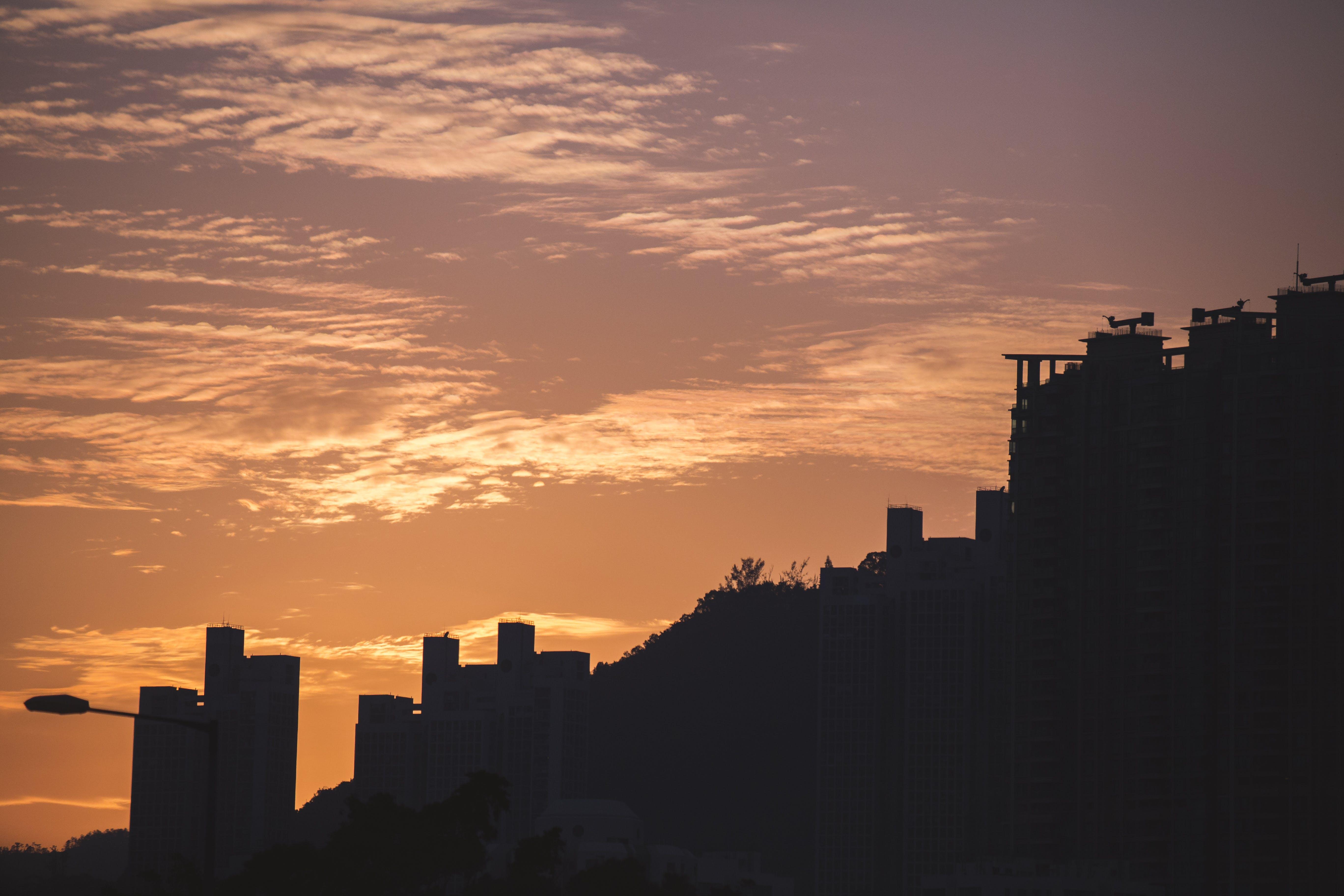 Free stock photo of buildings, city, cloud, hong kong