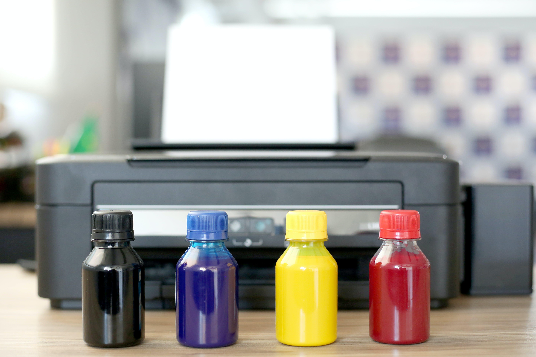 Free stock photo of cmyk, impressora, ink, office