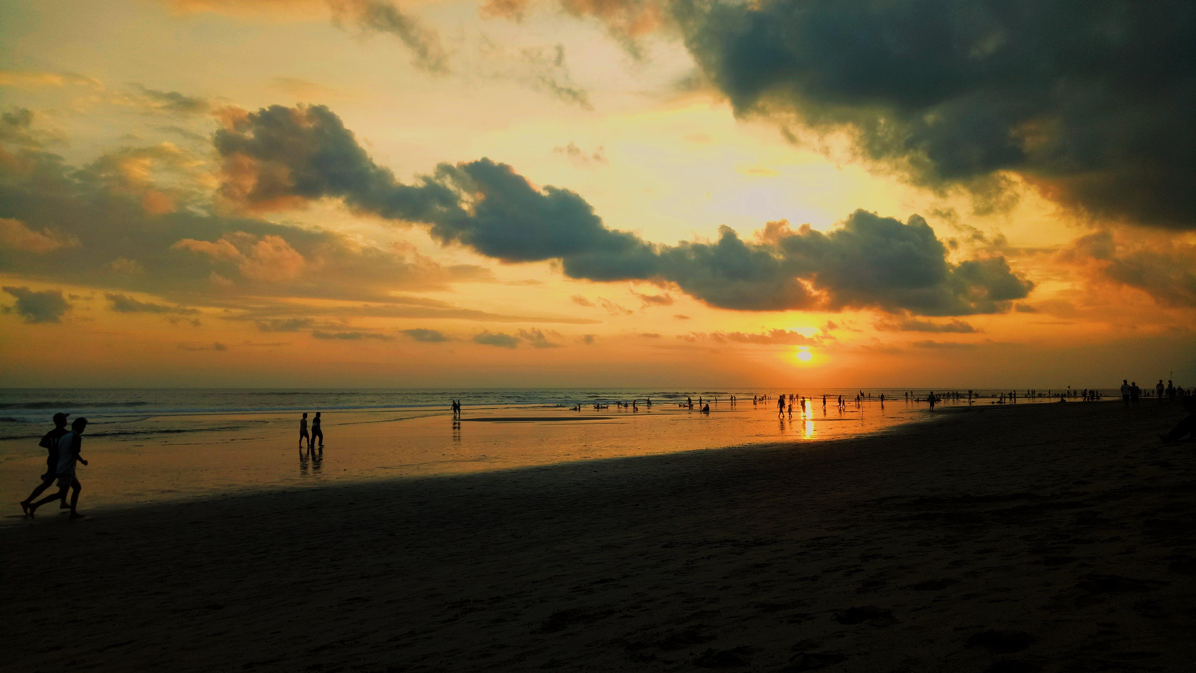 Základová fotografie zdarma na téma moře, obloha, oceán, písek