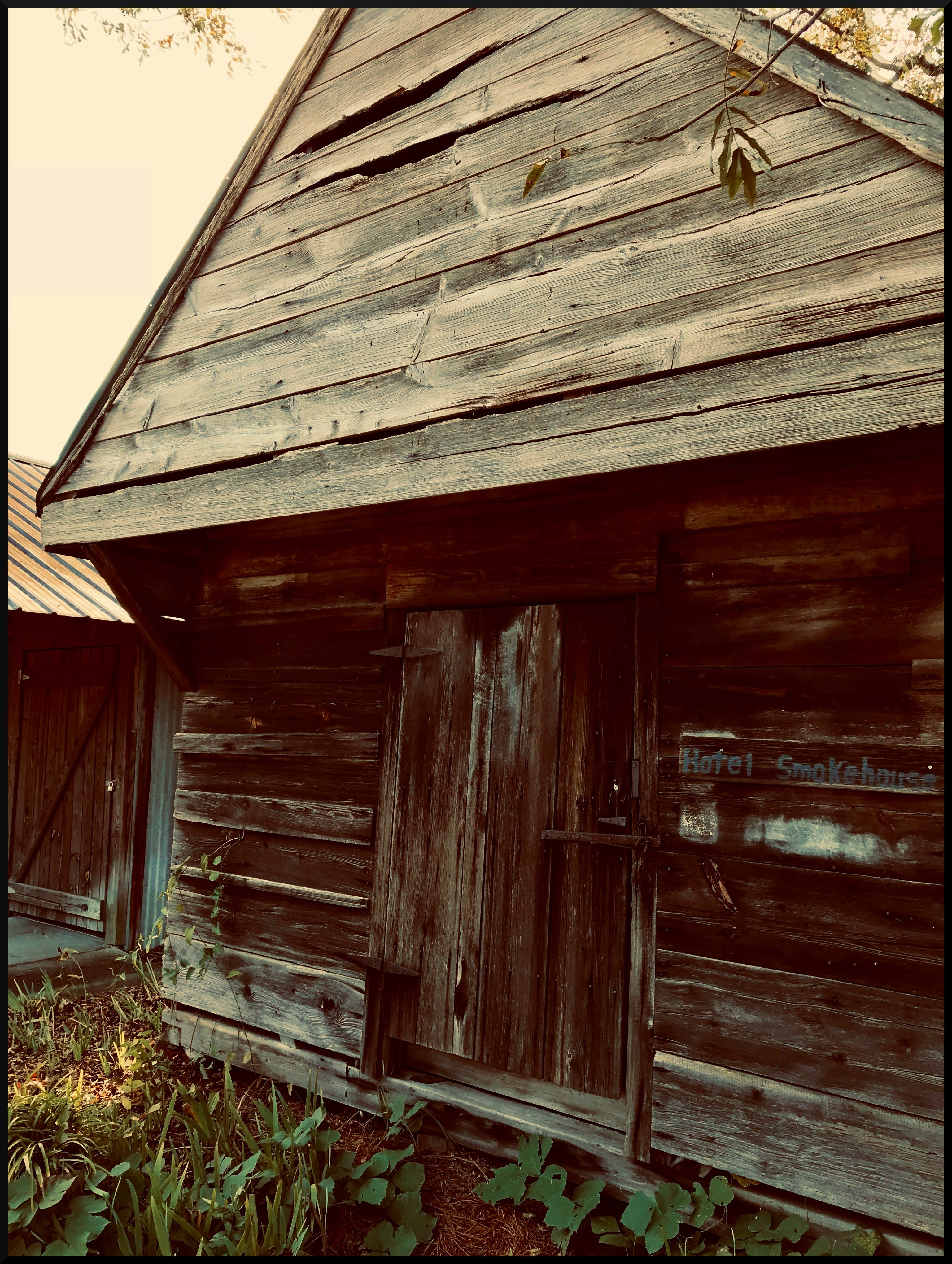 Free stock photo of Historic Building, old building, smokehouse