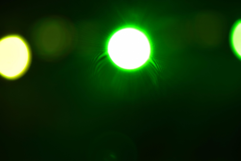 Free stock photo of Green lights