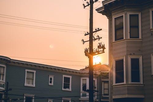 Ingyenes stockfotó 4k-háttérkép, barna, ég, este témában