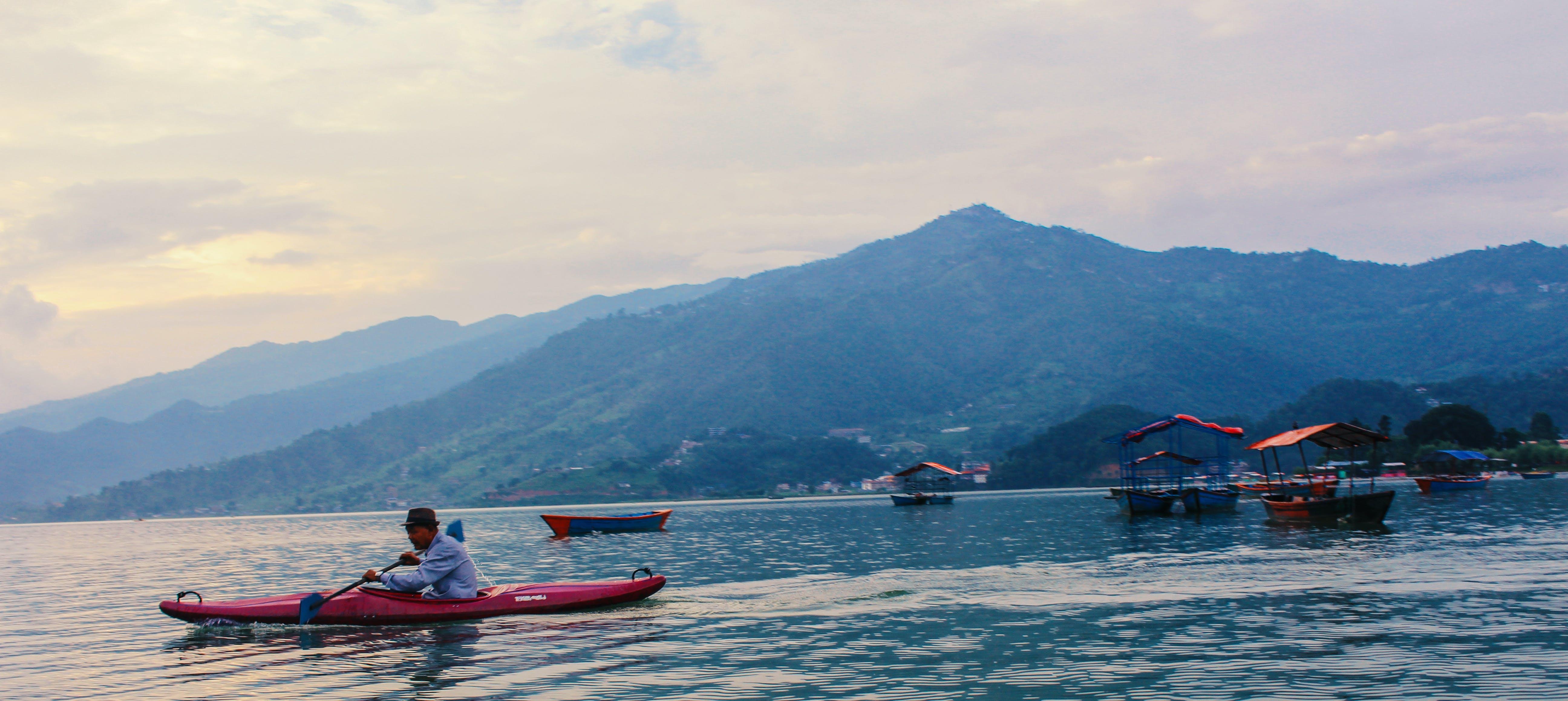 Free stock photo of boat, landscape