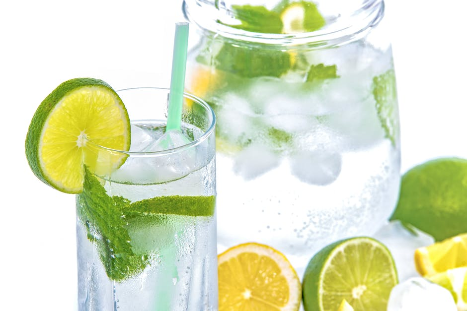 Flavored water for hydration!