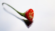 macro photography, chilli peppers