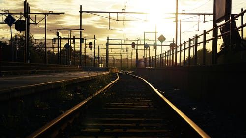 Free stock photo of railroad, train station