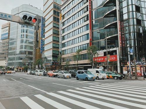 交通, 交通系統, 商業, 城市 的 免费素材图片