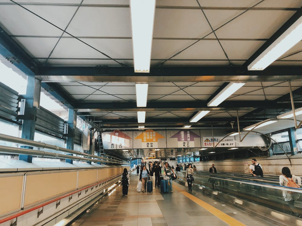 bảng chỉ dẫn, công cộng, ga tàu