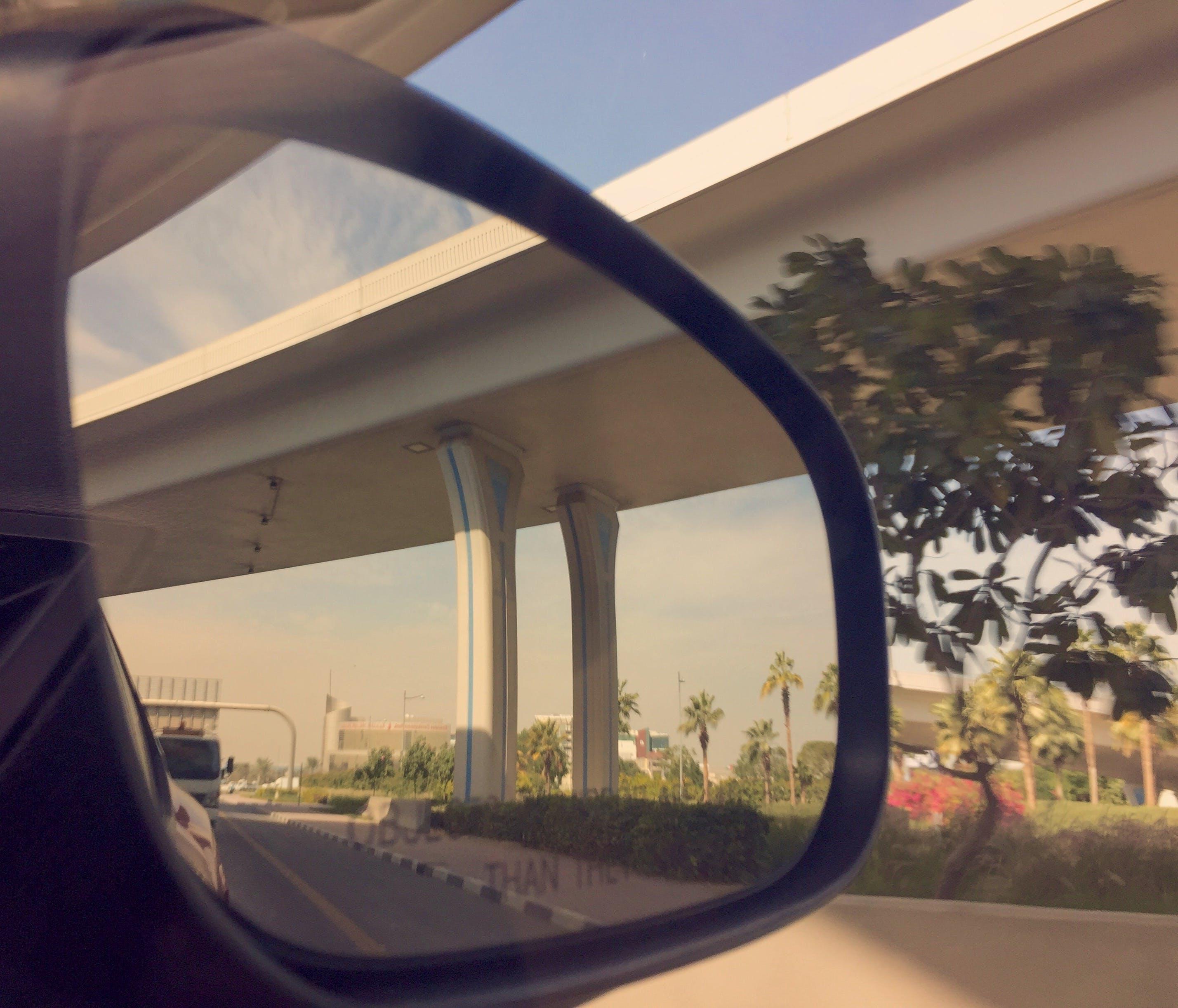 Δωρεάν στοκ φωτογραφιών με γέφυρα, εξωτερικός καθρέφτης, οδικός άξονας, φωτογραφία