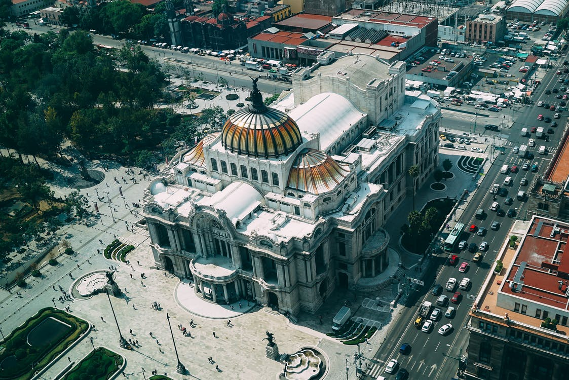 Bird's Eye View Photography of Dome Building