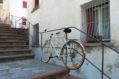 Free stock photo of bicycle, cycle, france, oldschool
