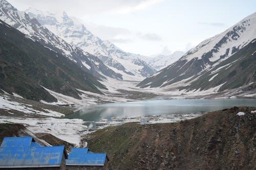 サイフウルマルク湖, パキスタン, 凍結する, 山の無料の写真素材
