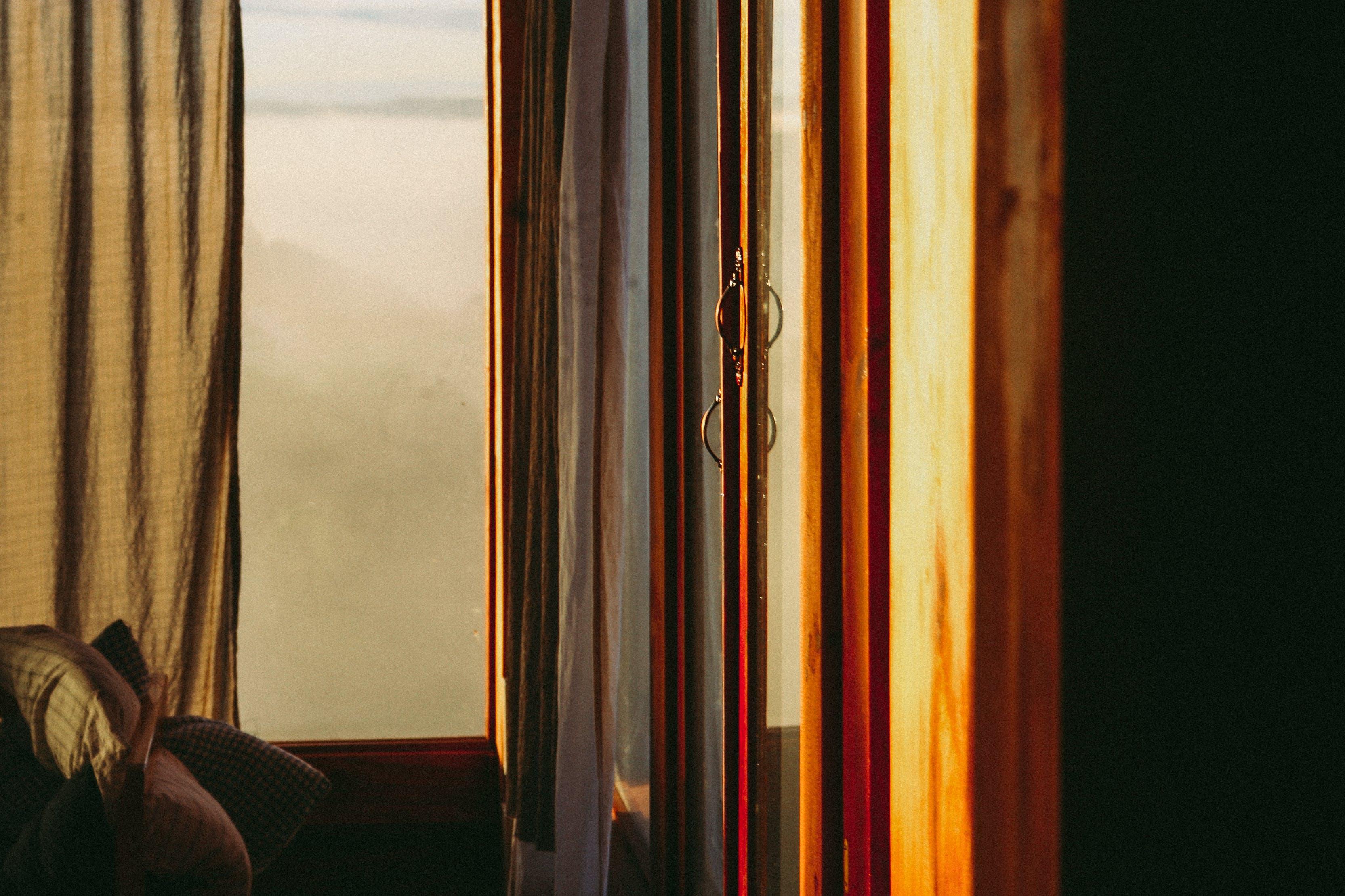 Free stock photo of wood, inside, door, window