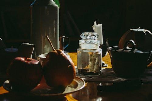 Imagine de stoc gratuită din apple, container, farfurie, fructe