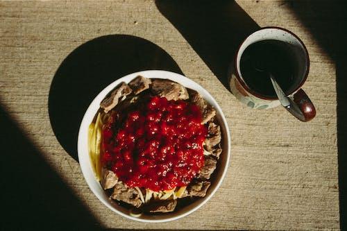 光, 咖啡, 杯子, 番茄醬 的 免费素材照片