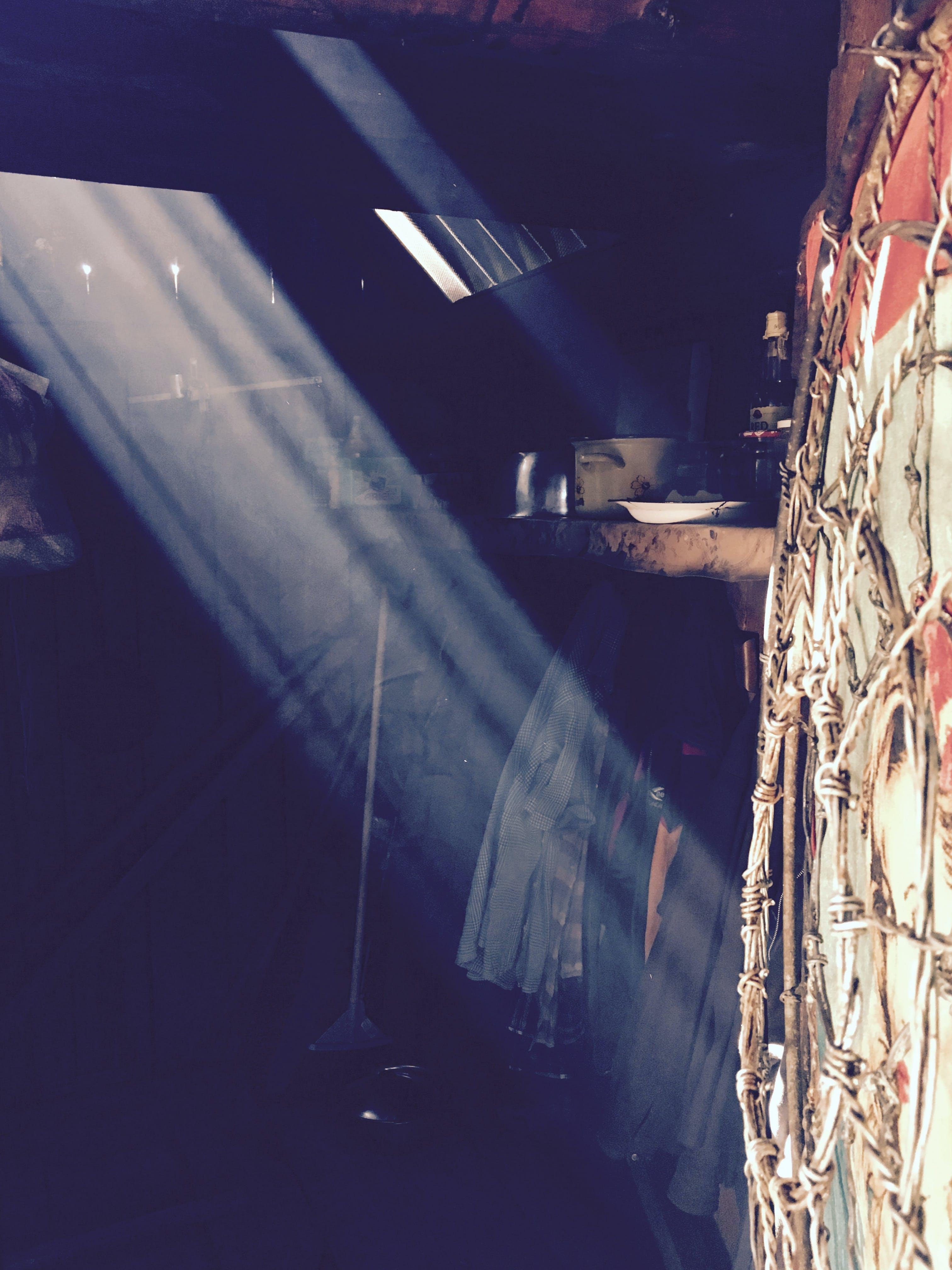 Free stock photo of light, light into sheepfold, lightning, sheepfold