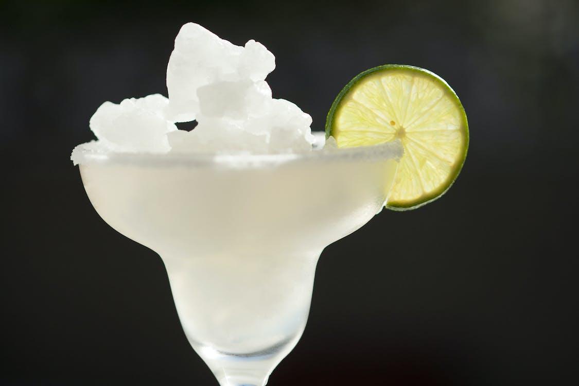 White Ice on White Ceramic Bowl