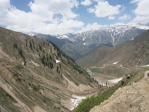 山岳, 空の無料の写真素材